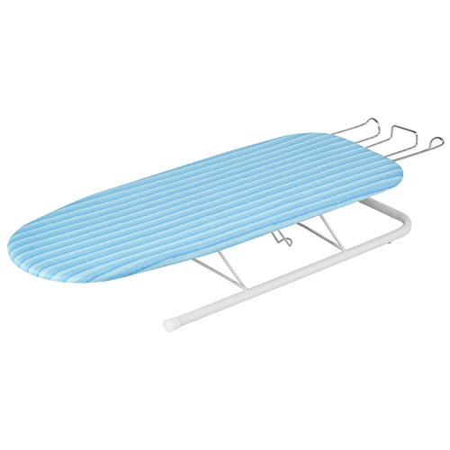 - Honey-Can-Do Tabletop Ironing Board with Retractable Iron Rest