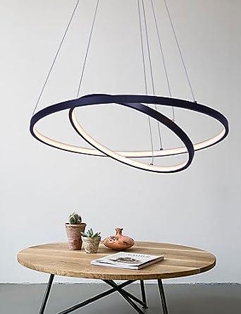 Dimmbare LED 50W Pendelleuchte Modernes Design Ring Special Fr Bro