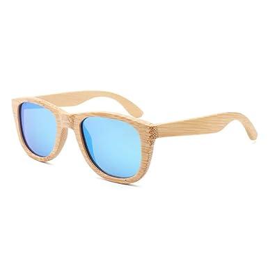 Getwli Gafas de sol polarizadas de bambú Hombres Gafas de ...
