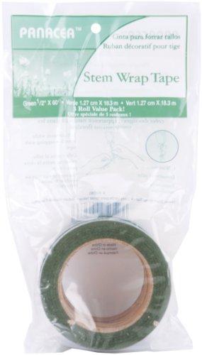 Panacea Floral Tape Value Pack 3/Pkg-Green (Panacea Tape Floral)