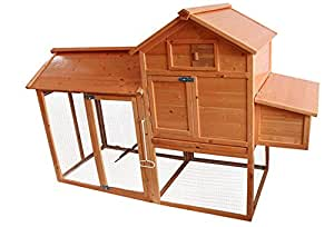 Archie & Oscar The Simple Darla Deluxe Wooden Chicken Coop