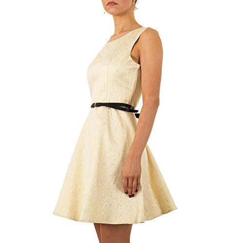 Glänzendes Cocktail Kleid Für Damen bei ItalDesign Gold wVexx2 ...