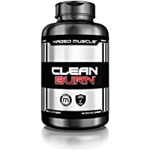 Clean Burn Stimulant-Free Fat Burner, Weight Loss Supplement & Appetite Suppressant for Men & Women, 180 Veggie Diet Pills