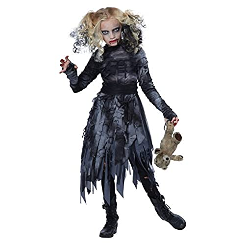 California Costumes Zombie Girl Child Costume Large