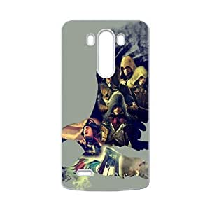Assassins Creed Protective Hard Design LG G3 Case Shell Cover (Laser Technology)