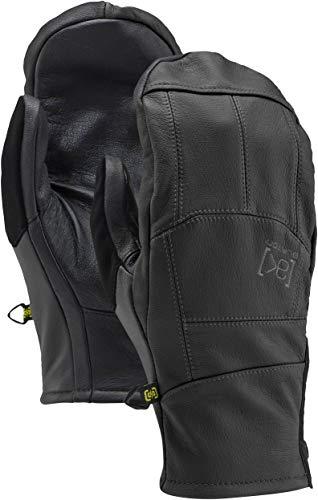 Burton [Ak Leather Tech Mitts, True Black, X-Large