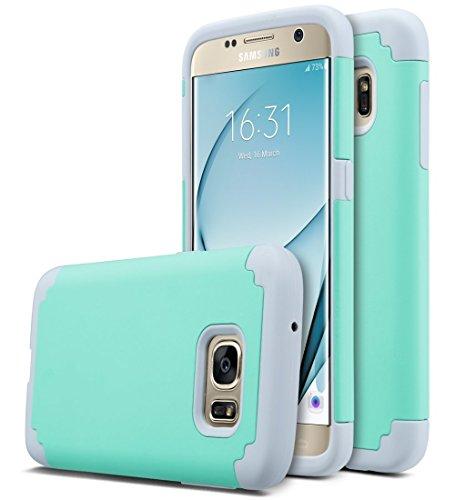 TPU Neo Hybrid Case for Samsung Galaxy S7 Edge (Grey) - 7