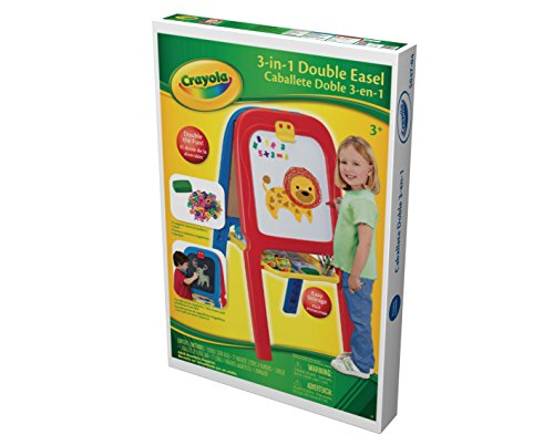 crayola 3 in 1 double easel with magnetic letters crayola 3 in 1 easel kid 39 s easel import it all 21223 | 41P5 DsL FL