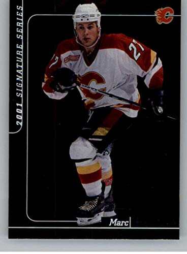 2000-01 Be A Player Signature Series Hockey #17 Marc Savard Calgary Flames Official NHL Trading Card From ITG In The Game