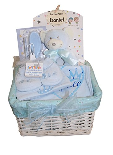 Canastilla Pequeño Príncipe Azul - cesta bebe- cesta para bebe ...