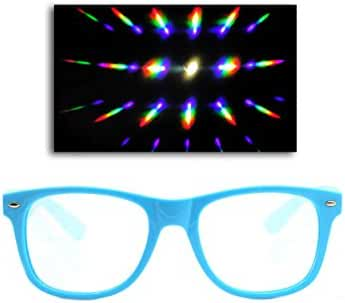 Emazing Lights Premium Diffraction Prism Rave Glasses