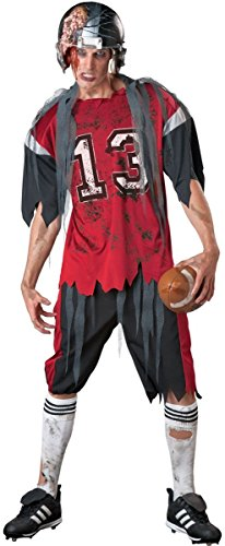 Dead Zone Zombie Costume - Large - Chest Size 42-44 (Zombie Football Costume)
