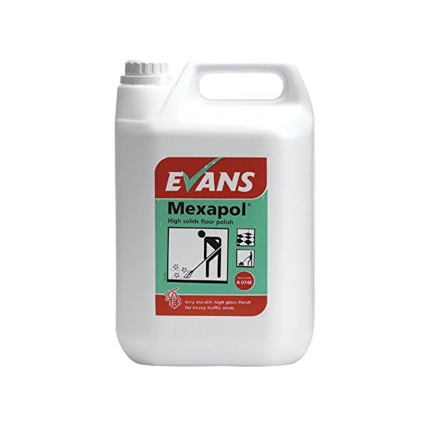 Evans Vanodine- Mexapol - High solids floor polish -5ltr
