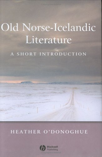 Old Norse-Icelandic Literature: A Short Introduction (Wiley Blackwell Introductions to Literature) by Brand: Wiley-Blackwell