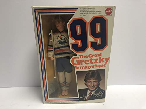 Wayne Gretzky 1983 Mattel # 99 The Great Gretzky 12 Inches tall Figure Doll in Original Box