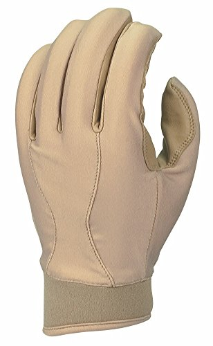 Franklin Sports 2nd-Skinz II General Duty Tactical Gloves, Tan, Small