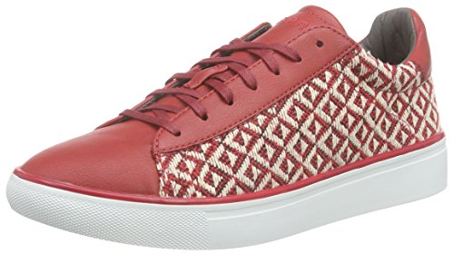 Donna Lace Esprit 630 Rosso rot Up Sneaker Lizette Red Basse 4X5xw5aq