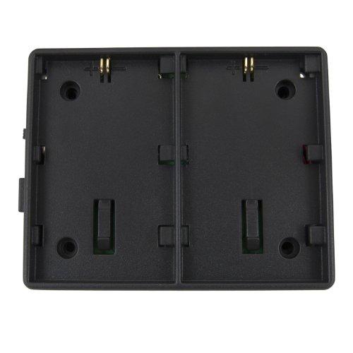 Varizoom VZMBP5D Canon Battery Plate 5D/7D/60D (LP-E6) for VZ-M5 and -M7 Monitors (Black)