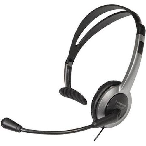 Panasonic KX-TCA430 Comfort-Fit, Foldable Headset with Flexible Noise-Cancelling Microphone and Volume Control