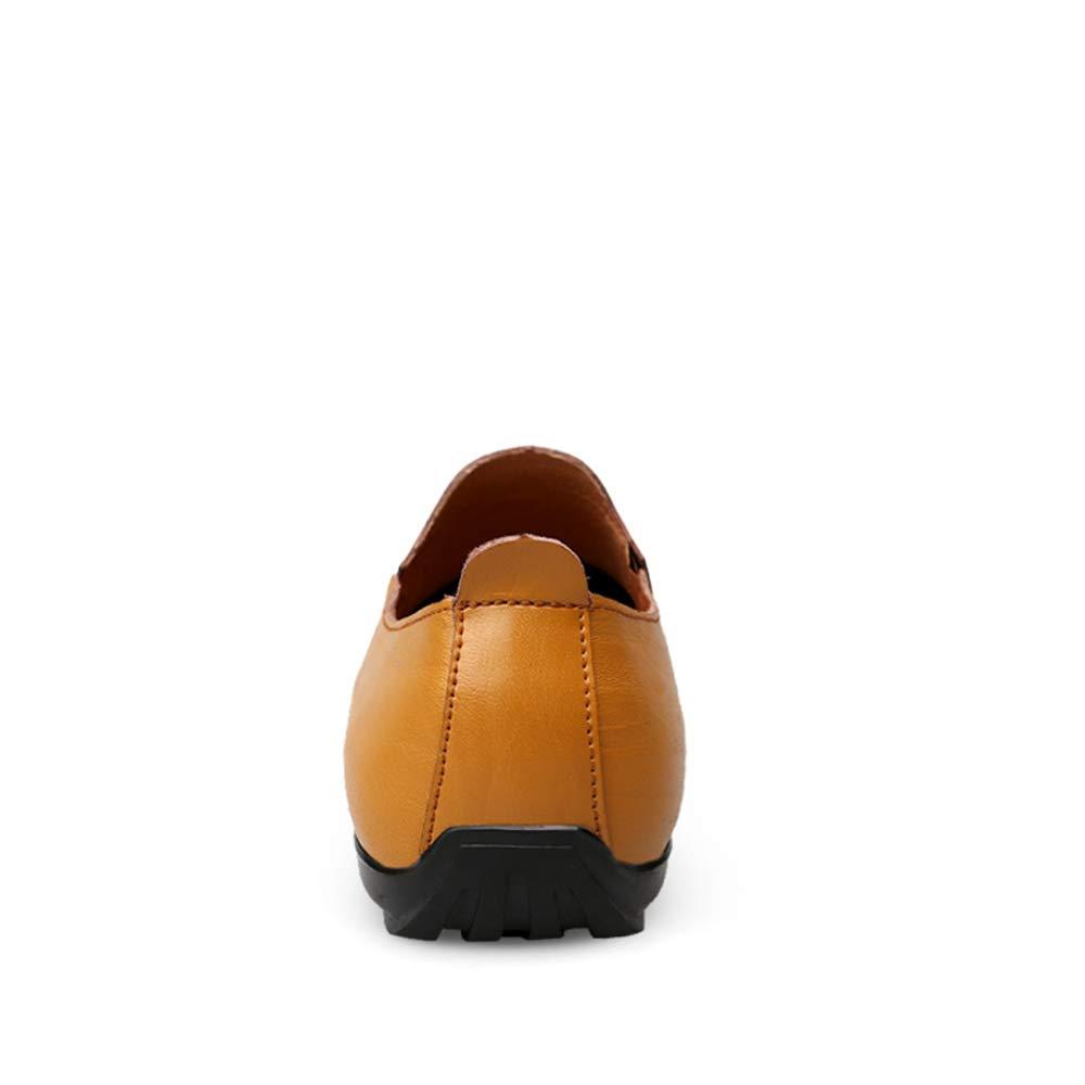 Shufang-schuhe 2018 Herren Mokassins Schuhe, Fahrende Müßiggänger der Männer, Art Art Art und Weise beiläufige und Bequeme Klassische weiche britische Art-Stiefel-Mokassins (Farbe   Light braun, Größe   43 EU)  5dbf28
