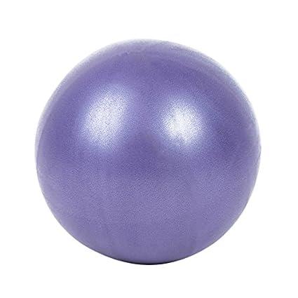 Balight Gym - Pelota de Yoga Hinchable DE 25 cm con Tapón para Niños Embarazadas y Mujeres