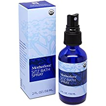 Motherlove Organic Sitz Bath Soothing Herbal Spray for Postpartum Care, 2 oz Bottle