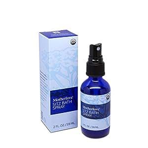 Motherlove Organic Sitz Bath Soothing Herbal Spray for Postpartum Care, 2 oz Bottle