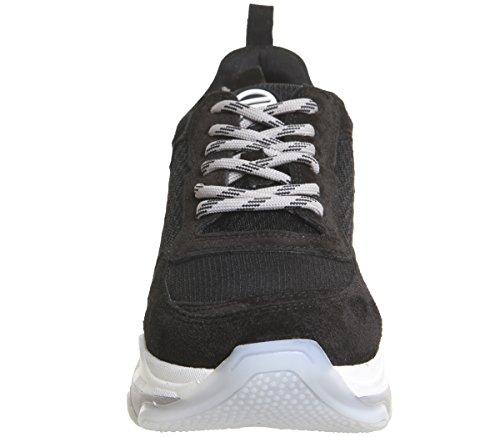4 Sneakers Black Super Womens Black Chunky Fornarina HwqCUU