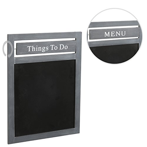 Mounted Rustic Chalkboard Message Rotating