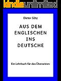 Aus dem Englischen ins Deutsche