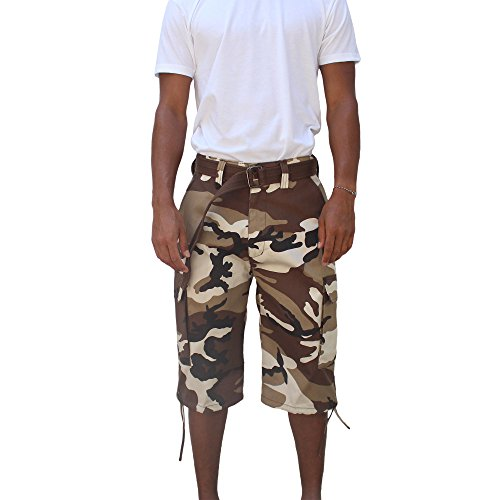 Regal Wear Mens Multi Color Bright Camo Big & Tall size 32-44 (Gold Chest Waders)