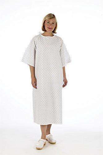 Unisex Vestido PACIENTE - Envoltura Estilo - Hospital proporcionado