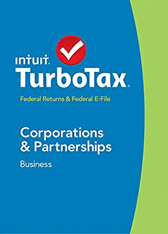 TurboTax Business 2014 Fed + Fed Efile Tax Software [Old Version] (Business Taxes Software)
