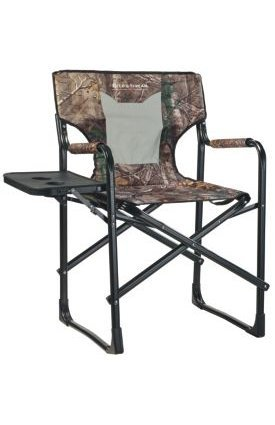 Field & Stream Camo Director's Chair Foldable director's chair with a fold-down tray by Field & Stream