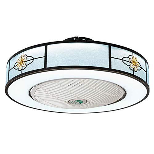 JGRH Chinese Retro Ceiling Fan Light Restaurant Bedroom Fan Light Ceiling Ceiling Fan Light Acrylic Chinese Retro Fan -