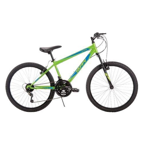 "Huffy Boys' Alpine 24"" 18-Speed Mountain Bike"