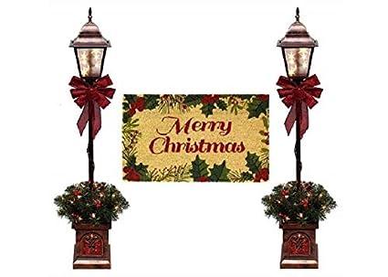 Amazon.com: Juego de 2 lámparas de Navidad con forma de ...