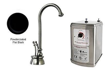 Westbrass d262h Docalorah 2-Handle Caliente dispensador de Agua de Grifo con Tanque de Agua