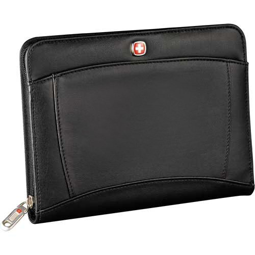 Wenger jr. Zippered padfolio Note pad Black - Mini Folio