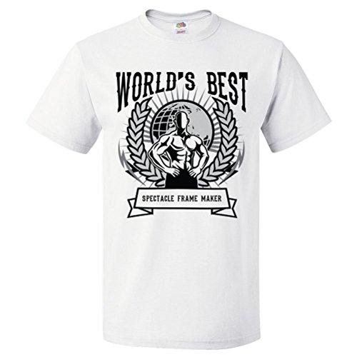 ShirtScope World's Best Spectacle Frame Maker T Shirt Gift for Spectacle Frame Maker Shirt - Best For Men Spectacle Frames