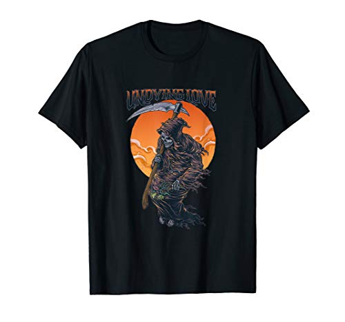 (Undying Love Grim Reaper Tees for Men Tees and Women T-Shirt)