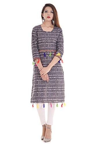 Vihaan Impex New Trendy Collection Designer pour femmes imprimé Kurti