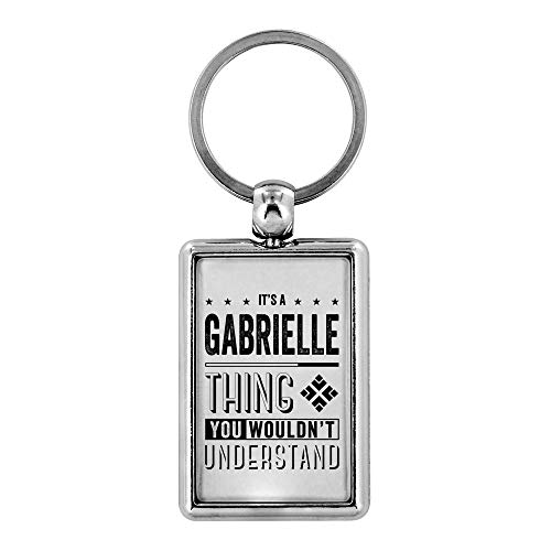 Cool Keyrings - It's a Gabrielle Thing You Wouldn't Understand - Mens Gifts Ideas For Valentine's, Birthday Gifts, Anniversary Gifts For Him, Personalised Keychains Novelty Gifts Ideas