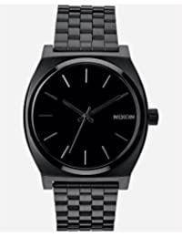 Nixon Men's A045-001 Stainless Steel Analog with Black Dial Watch