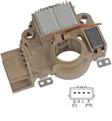 Mitsubishi Alternator Regulator (md619268, A866x34172) - 23048115