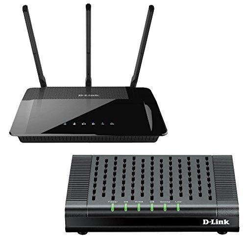 D-Link AC1900 Wi-Fi Router DIR-880L with D-Link DOCSIS 3.0 Cable Modem DCM-301 image