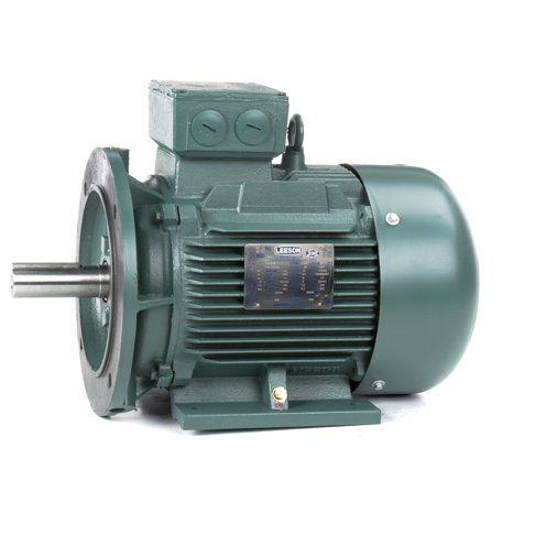 Leeson Electric 193349.60 - IEC Frame AC Motor - 3 ph, 11.2 kW, 1800 rpm, 230/460 V, 160M Frame, Totally Enclosed Fan Cooled Enclosure, 60 Hz