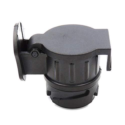 Coche Europeo 13 Girar 7 Z/ócalo Adaptador de Remolque Interfaz de cami/ón Cable el/éctrico de RV Socket Conector a Prueba de Agua 12V
