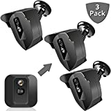 Blink XT/XT2 Mount, Indoor Outdoor Mount for Blink XT/XT2 Home Security, Weather Proof 360 Degree Protective Adjustable Blink Mounting Bracket Black, Blink Camera Mount (3 Pack)