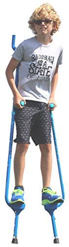 Flybar Master Walking Stilts (Large), Adjustable Height –...